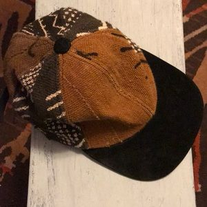 Free People Tribal Bohemian Trendy Hat Like New